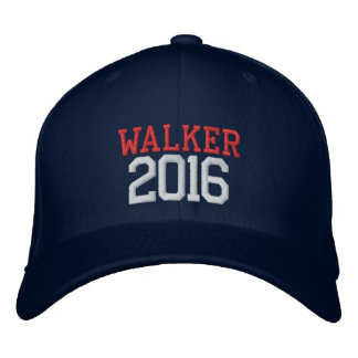 Scott Walker President 2016 Embroidered Baseball Caps