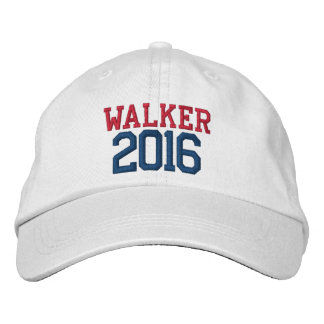 Scott Walker President 2016 Embroidered Baseball Cap