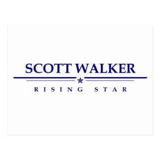 Scott Walker: Rising Star Postcard