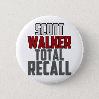 Scott Walker - Total Recall 2 Inch Round Button