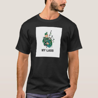 scott with bagpipe T-Shirt