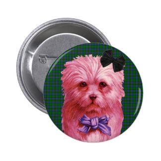 Scottie 2 Inch Round Button
