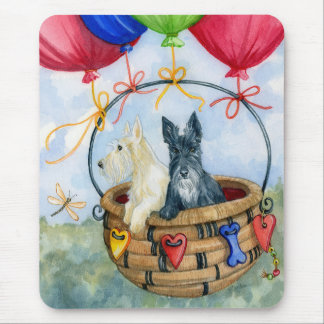 Scottie Balloon Pilots III Mouse Pad