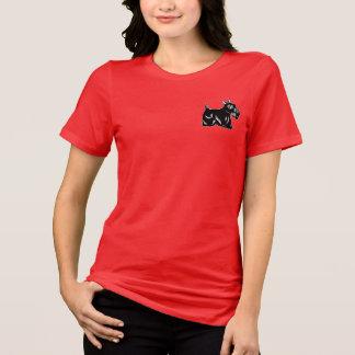 Scottie Dog Accent Women's Relaxed Jersey T-Shirt