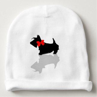 Scottie Dog Baby Beanie