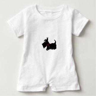 Scottie Dog Baby Romper