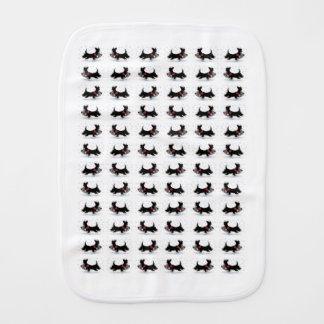 Scottie Dog Burp Cloth
