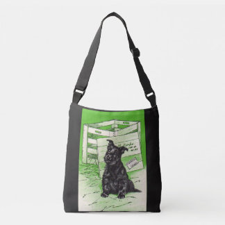 Scottie dog by special delivery crossbody bag
