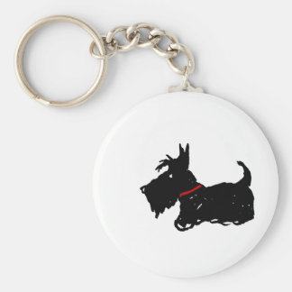 Scottie Dog Keychain