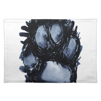 Scottie Dog Paw Placemat