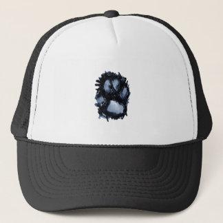 Scottie Dog Paw Trucker Hat