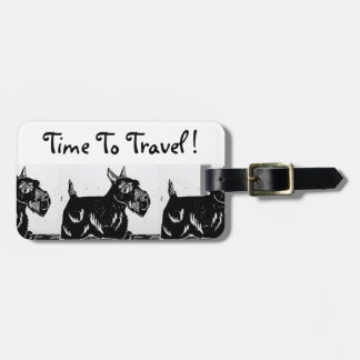 Scottie Dogs Luggage Tag