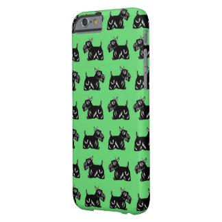 Scottie Dogs Pattern Green iPhone 6/6s Case