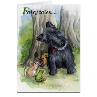 Scottie Fairy tails! Card