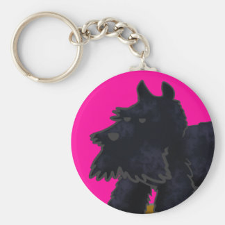 Scottie Keychain