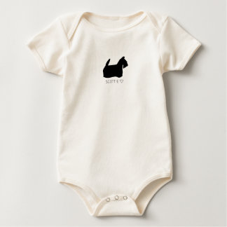 Scottie Love Baby Bodysuit