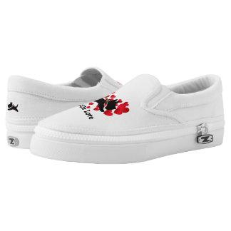 Scottie Love Personalize Slip-On Sneakers