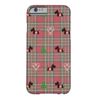 Scottie Merry Christmas Barely There iPhone 6 Case