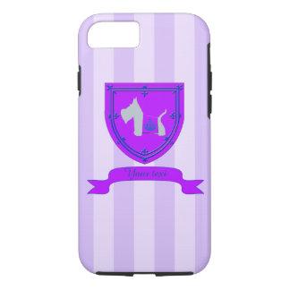 Scottie No 8 Gray Royal Crown iPhone 7 Case