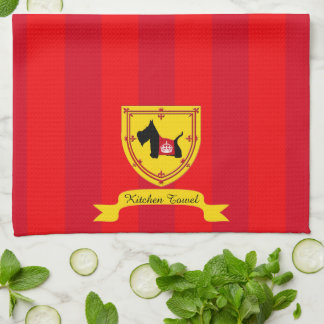 Scottie No 8 Royal Crown Kitchen Towel
