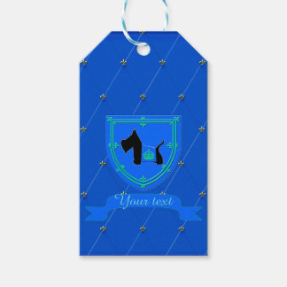 Scottie No 8 Royal Crown Pack Of Gift Tags