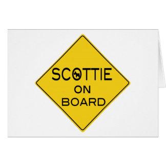 Scottie On Board Card