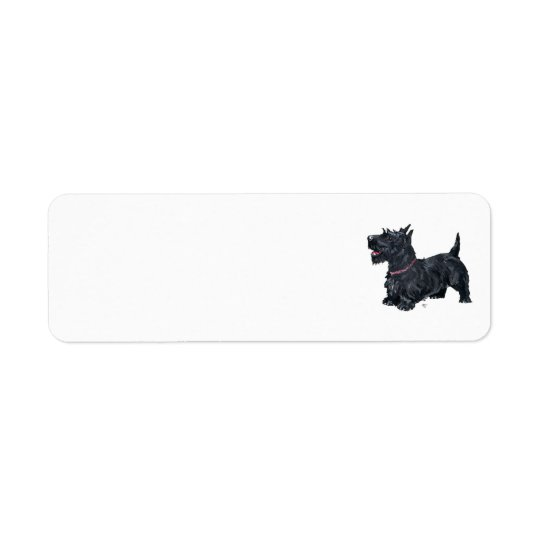 SCOTTIE Return Address Labels