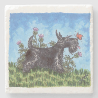 Scottie Stone Coaster