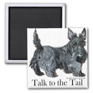 Scottie Talk to the Tail Magnet