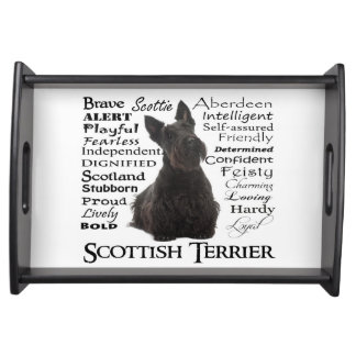 Scottie Traits Serving Tray
