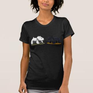 Scottie & Westie T-shirt