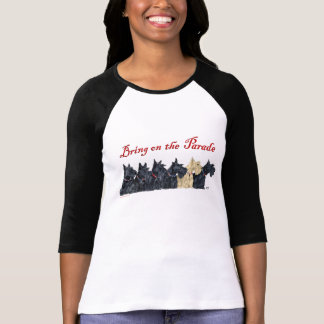 Scotties All in a Row T-Shirt