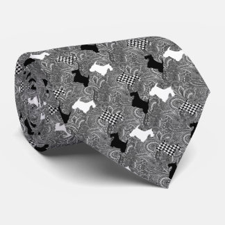 Scotties and Paisley Tie