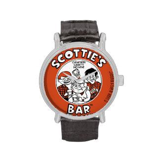 Scottie's Bar Coaster Watch
