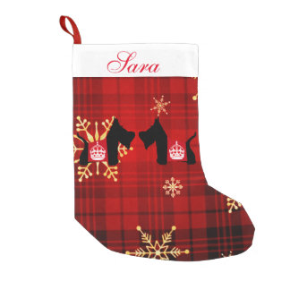 Scotties Royal Crown Small Christmas Stocking