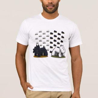 ScottieWestiePattern T-shirt