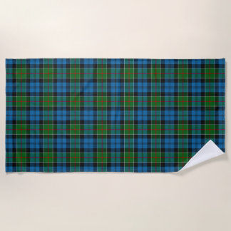 Scottish Accents Clan Colquhoun Tartan Beach Towel