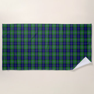 Scottish Accents Clan Douglas Tartan Beach Towel