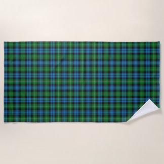 Scottish Accents Clan Lamont Tartan Beach Towel