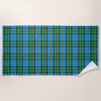 Scottish Accents Clan MacLeod of Harris Tartan Beach Towel