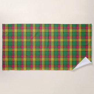 Scottish Accents Clan MacMillan Tartan Beach Towel