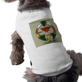 Scottish Agate Bloodstone Pin Doggie Tee Shirt