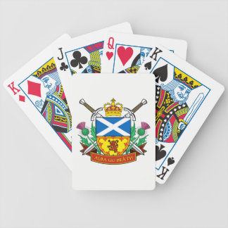 "Scottish ""Alba gu bràth"" Bicycle® Poker Cards"