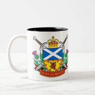 """Scottish """"Alba gu bràth"""" Black 11 oz Two-Tone Mug"""