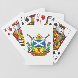"Scottish ""Alba gu bràth"" Playing Cards"