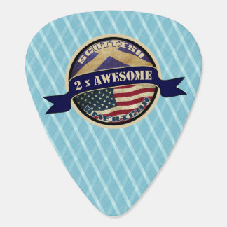 Scottish American 2x Awesome Guitar Pick