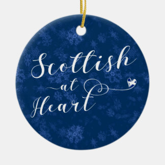 Scottish At Heart, Christmas Tree Ornament