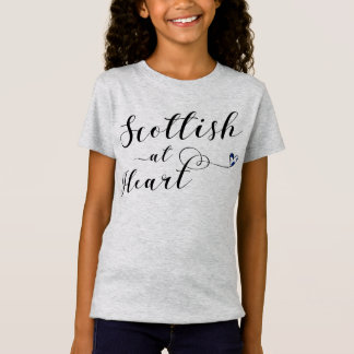 Scottish At Heart Tee Shirt