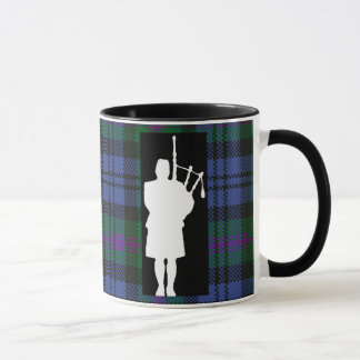 Scottish Bagpiper Mug