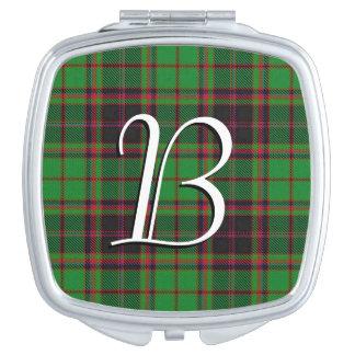 Scottish Beauty Clan Buchan Tartan Plaid Vanity Mirrors